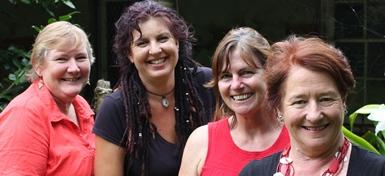 Paterson Fern nursery team: Pat, Bek, Tracey & Julia